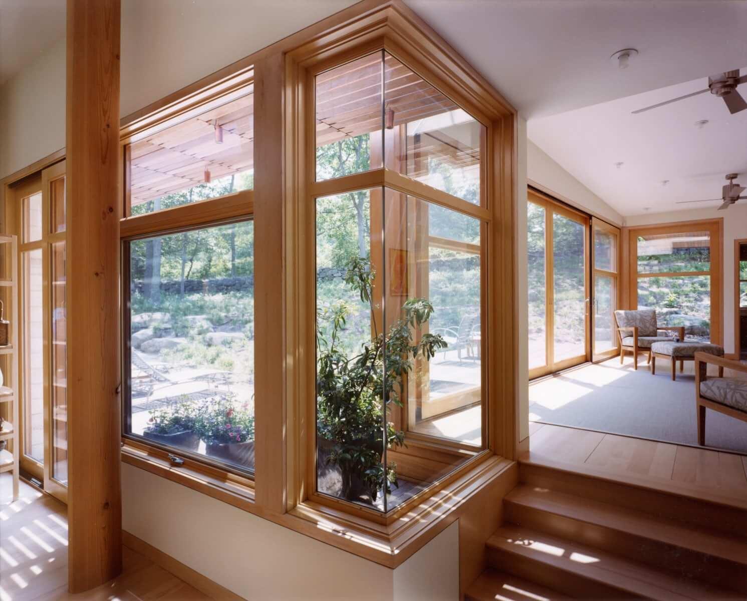 Красивые окна в домах фото можете