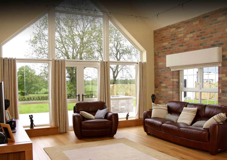 если красивые окна в домах фото этой поляне сказочной